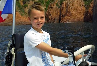 Ballade en mer à Saint Raphaël - ballades pour les enfants et parents