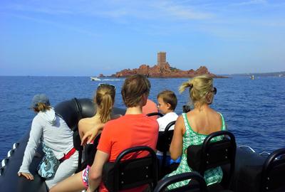 Sortie en mer au départ de fréjus - sortie en mer en bateau moteur