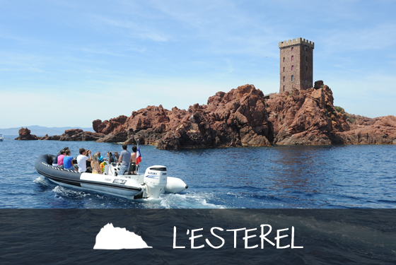 Sortie et excursion en mer en direction de l'esterel