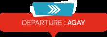 agay-departure
